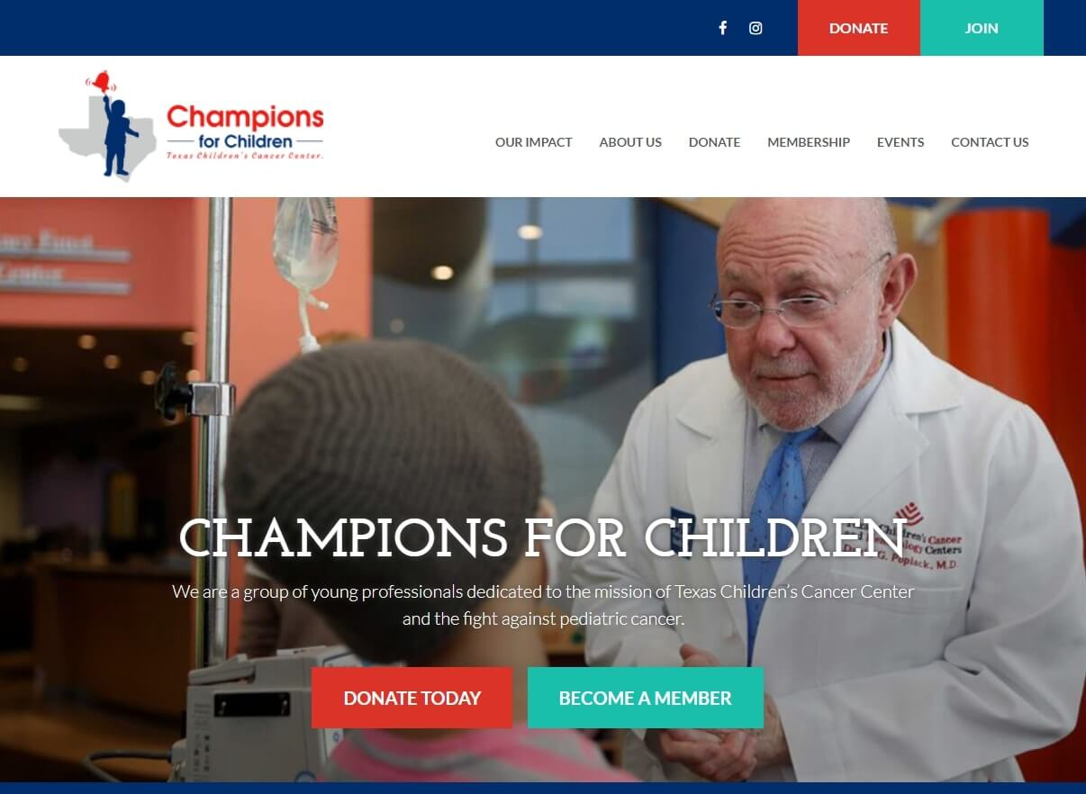 Champions for Children TX